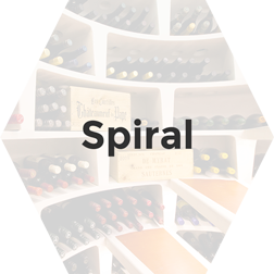 Underground spiral cellars