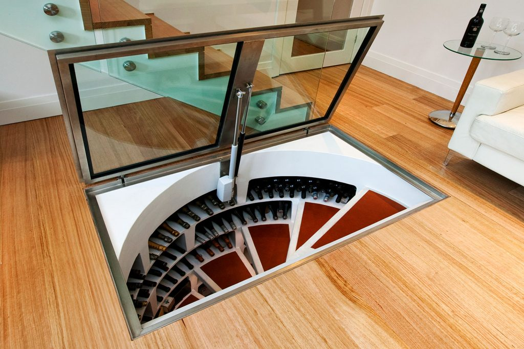 Great Underground Design Of Spiral Cellars Signature Cellars