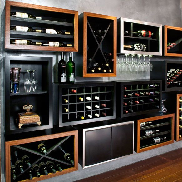 Contemporary Wine Cellars