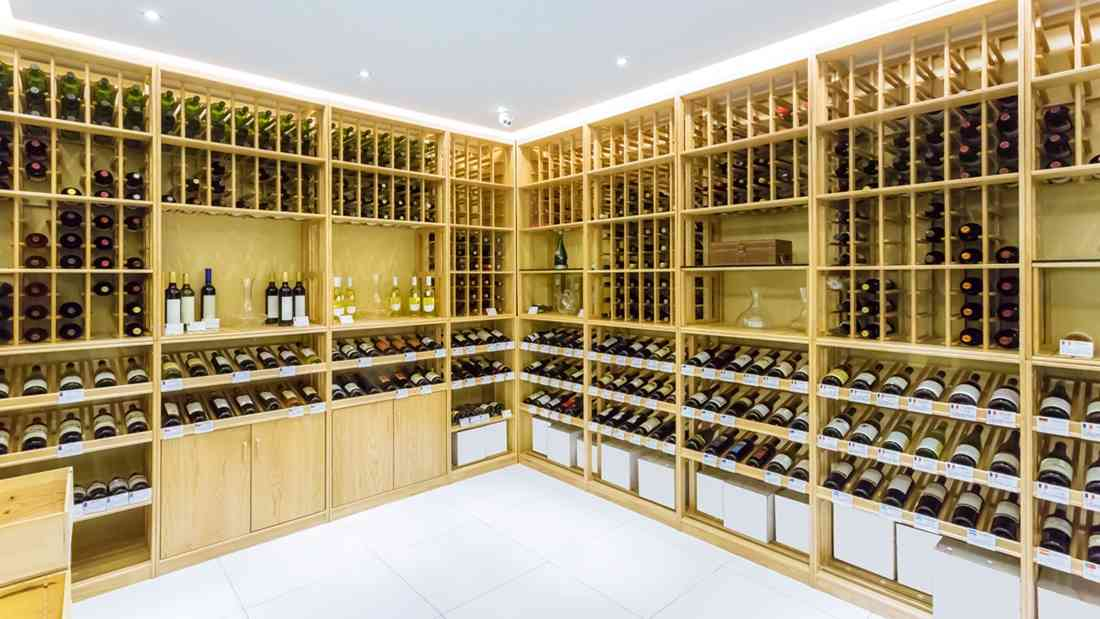 Different types of wine storage options