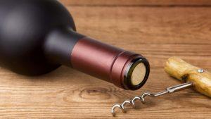 corked wine