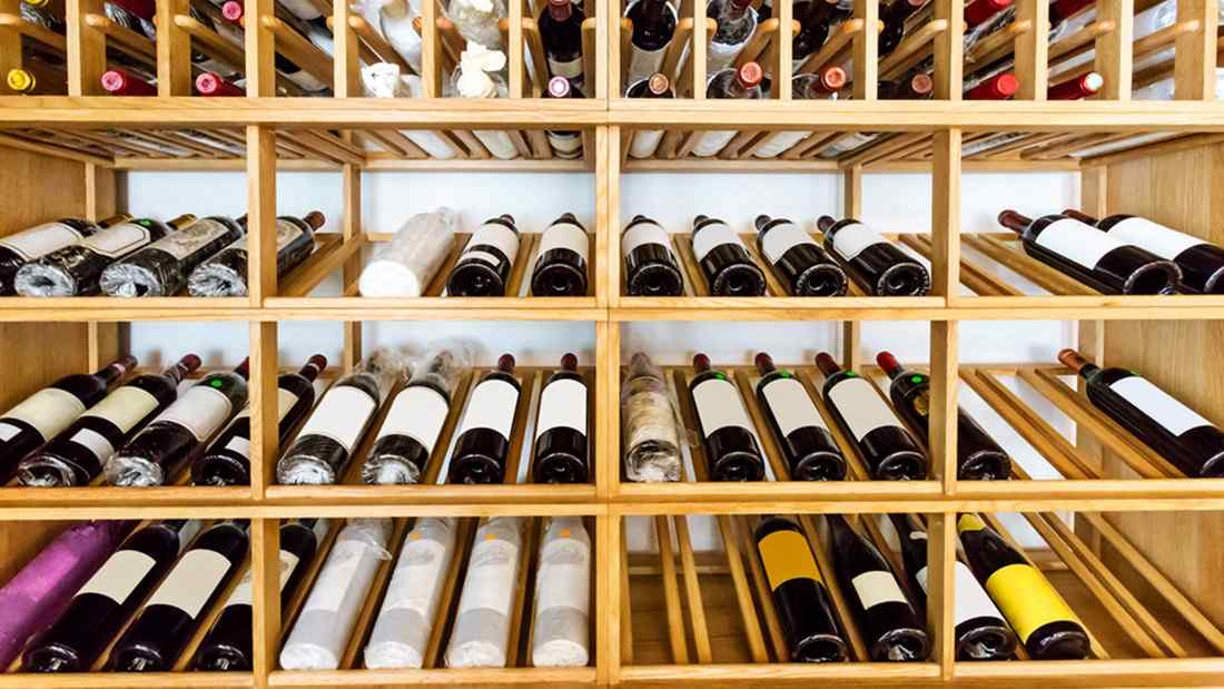things to consider to create the best conditions for storing wine