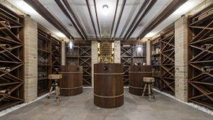 pick the right wood racks for your custom built wine cellar