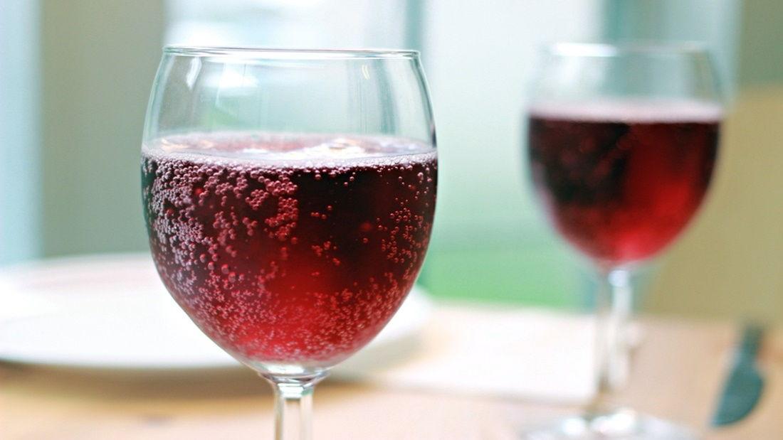 Lambrusco sparkling wine