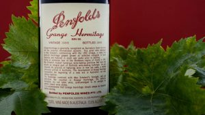 Penfolds vintage wine