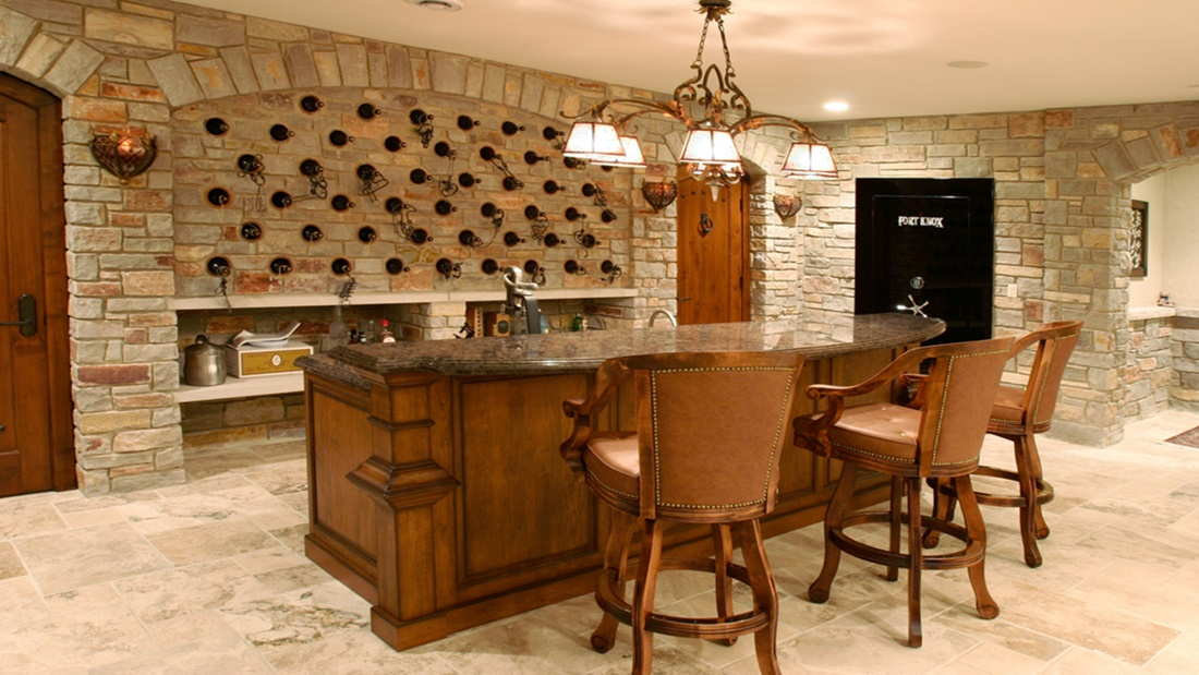 charming wine cellar design concepts