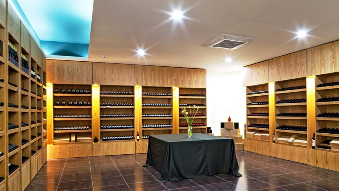 modern wine cellar design