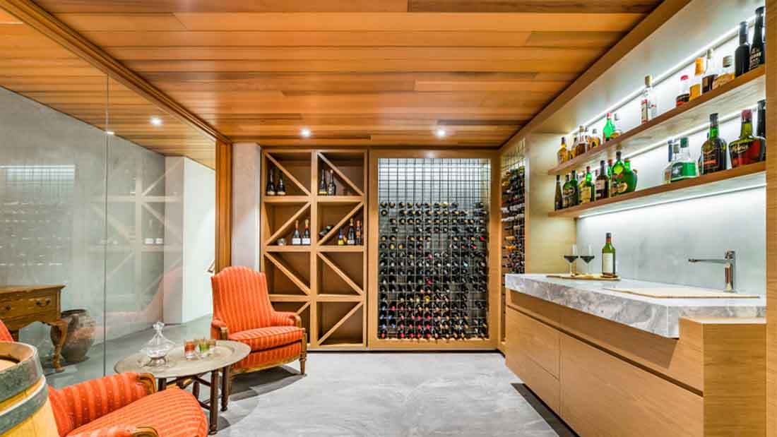 planning and making space for a new wine cellar in your home