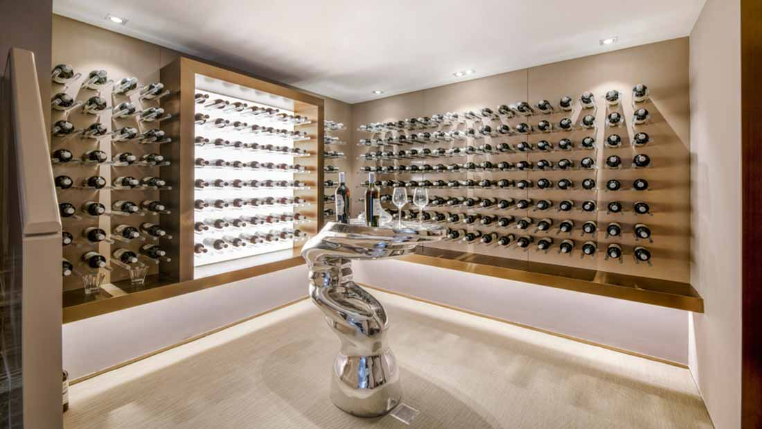 custom wine cellar lighting options