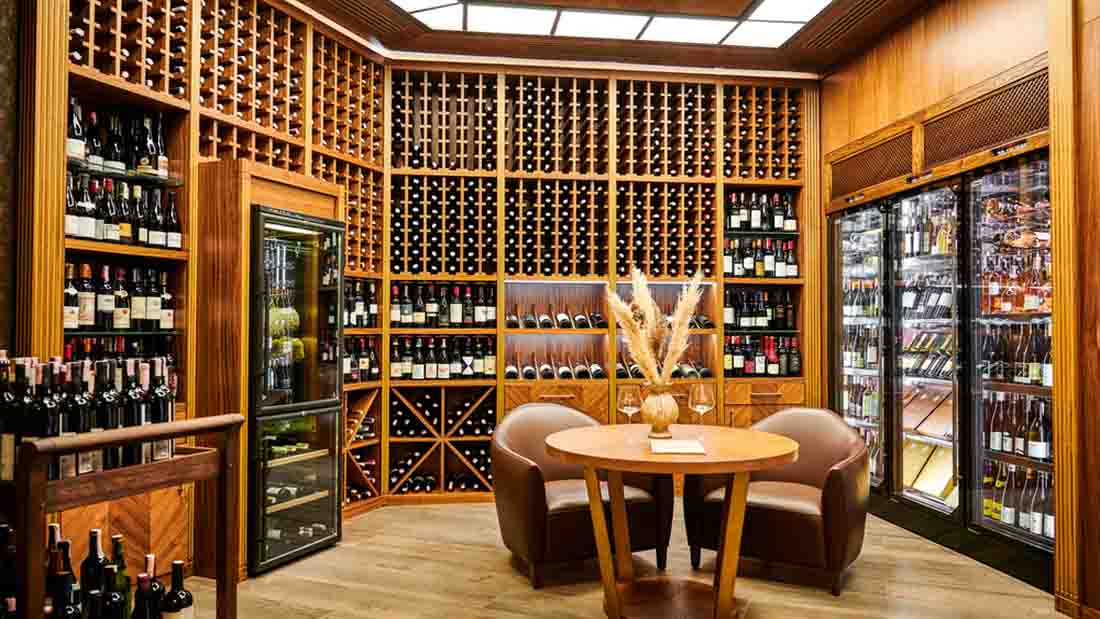 why mahogany is a great material option for your wine cellar